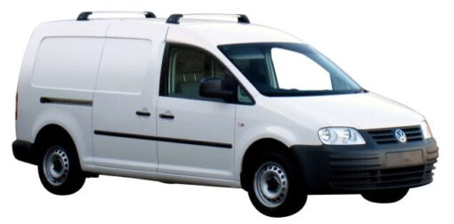 Whispbar Dakdragers (Silver) Volkswagen Caddy SWB (2 Bar) 4dr Van met Vaste bevestigingspunten bouwjaar 2015 - e.v.|Complete set dakdragers