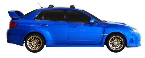 Whispbar Dakdragers (Silver) Subaru WRX 4dr Sedan met Vaste bevestigingspunten bouwjaar 2011 - 2014|Complete set dakdragers