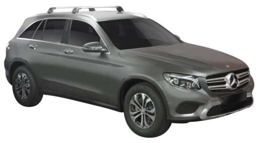Whispbar Dakdragers (Black) Mercedes-Benz GLC 5dr SUV met Geintegreerde rails bouwjaar 2015 - e.v.|Complete set dakdragers