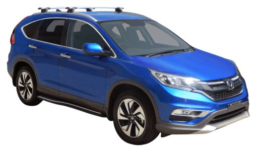 Whispbar Dakdragers (Zilver) Honda CR-V 5dr SUV met Geintegreerde rails bouwjaar 2015 - 2017|Complete set dakdragers