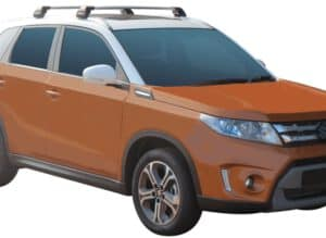 Whispbar Dakdragers (Black) Suzuki Vitara 5dr SUV met Geintegreerde rails bouwjaar 2015 - e.v.|Complete set dakdragers