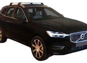 Whispbar Dakdragers (Zilver) Volvo XC60 5dr SUV met Geintegreerde rails bouwjaar 2017 - e.v.|Complete set dakdragers