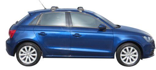 Whispbar Dakdragers (Black) Audi A1/S1 Sportback 5dr Hatch met Glad dak bouwjaar 2012 - e.v.|Complete set dakdragers