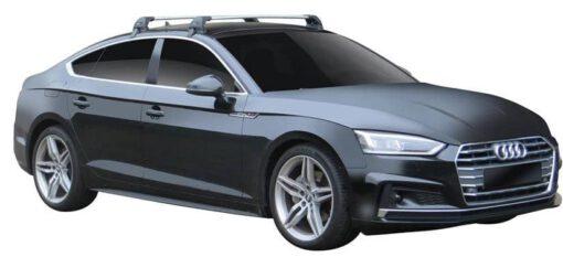 Whispbar Dakdragers (Black) Audi A5/S5/RS5 Sportback 5dr Coupe met Glad dak bouwjaar 2017 - e.v.|Complete set dakdragers