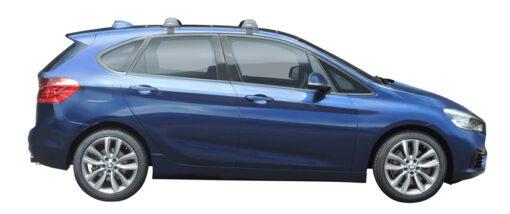 Whispbar Dakdragers (Black) BMW 2 Series Active Tourer 5dr MPV met Glad dak bouwjaar 2014 - e.v.|Complete set dakdragers