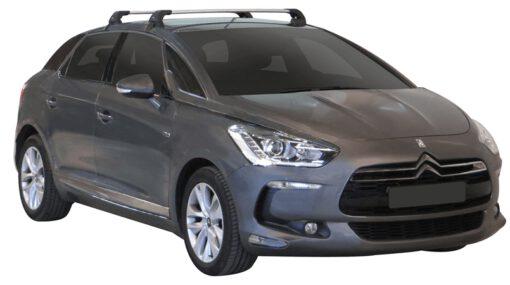 Whispbar Dakdragers (Black) Citroen DS5 5dr Hatch met Glad dak bouwjaar 2012 - 2015 Complete set dakdragers