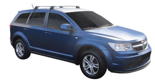 Whispbar Dakdragers (Black) Fiat Freemont 5dr SUV met Glad dak bouwjaar 2012 - e.v.|Complete set dakdragers