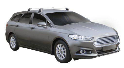 Whispbar Dakdragers (Black) Ford Mondeo 5dr Estate met Glad dak bouwjaar 2014 - e.v.|Complete set dakdragers