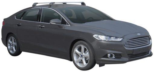 Whispbar Dakdragers (Black) Ford Mondeo 5dr Hatch met Glad dak bouwjaar 2014 - e.v.|Complete set dakdragers