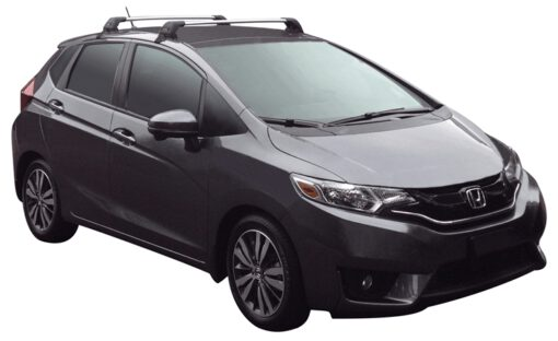 Whispbar Dakdragers (Black) Honda Jazz 5dr Hatch met Glad dak bouwjaar 2015 - e.v. Complete set dakdragers
