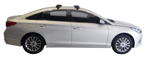 Whispbar Dakdragers (Black) Hyundai Sonata LF 4dr Sedan met Glad dak bouwjaar 2015 - e.v.|Complete set dakdragers
