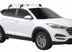 Whispbar Dakdragers (Black) Hyundai Tucson 5dr SUV met Glad dak bouwjaar 2015 - e.v.|Complete set dakdragers