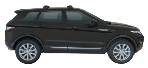 Whispbar Dakdragers (Black) Land Rover Range Rover Evoque 5dr SUV met Glad dak bouwjaar 2011 - e.v.|Complete set dakdragers