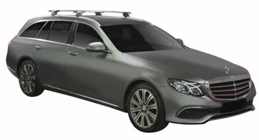 Whispbar Dakdragers (Zilver) Mercedes-Benz E-Class All-Terrain 5dr Estate met Geintegreerde rails bouwjaar 2017 - e.v.|Complete set dakdragers
