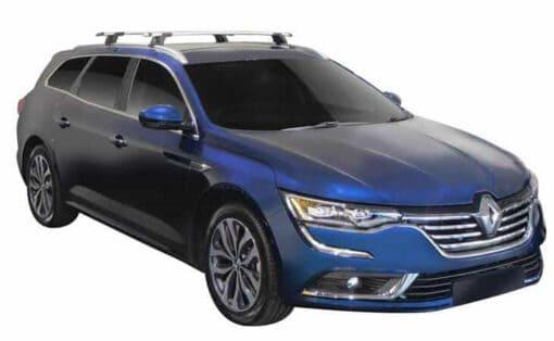Whispbar Dakdragers (Zilver) Renault Talisman 5dr Estate met Geintegreerde rails bouwjaar 2016 - e.v.|Complete set dakdragers