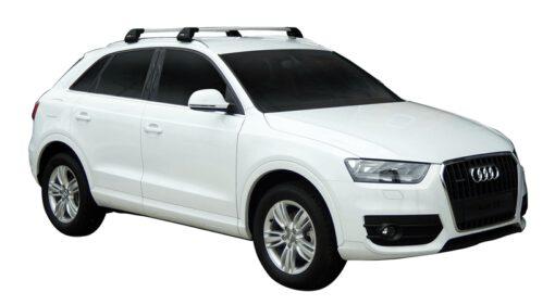 Whispbar Dakdragers (Black) Audi Q3/Q3 RS 5dr SUV met Geintegreerde rails bouwjaar 2012 - e.v.|Complete set dakdragers