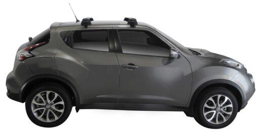 Whispbar Dakdragers (Zilver) Nissan Juke 5dr SUV met Glad dak bouwjaar 2015 - e.v.|Complete set dakdragers