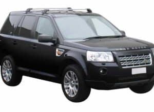 Whispbar Dakdragers Zwart Land Rover Freelander 2 5dr SUV met Glad Dak bouwjaar 2007-2012 Complete set dakdragers
