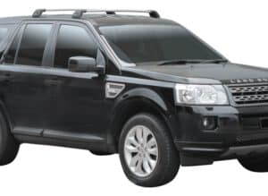 Whispbar Dakdragers Zwart Land Rover Freelander 2 5dr SUV met Vaste Bevestigingspunten bouwjaar 2007-2012 Complete set dakdragers