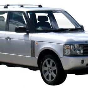 Whispbar Dakdragers Zwart Land Rover Range Rover 5dr SUV met Vaste Bevestigingspunten bouwjaar 2002-2012 Complete set dakdragers