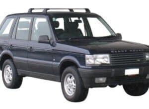 Whispbar Dakdragers Zilver Land Rover Range Rover 5dr SUV met Vaste Bevestigingspunten bouwjaar 1995-2001 Complete set dakdragers