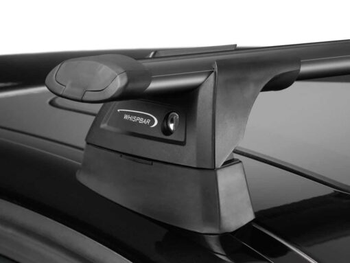 Whispbar Dakdragers Zwart Opel Astra 5dr Hatch met Vaste Bevestigingspunten bouwjaar 2010-2015 Complete set dakdragers