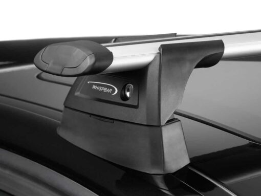 Whispbar Dakdragers Zilver Ford Mondeo 5dr Hatch met Glad Dak bouwjaar 2007-2010 Complete set dakdragers