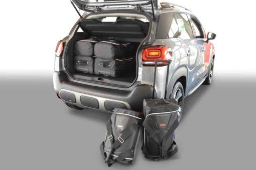 Citroën C3 Aircross 2017-heden 5d Car-Bags reistassenset