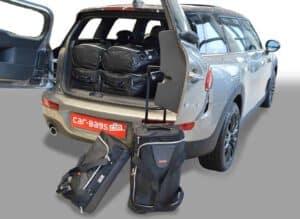 Mini Clubman (F54) 2015-heden Car-Bags reistassenset met Britse vlag logo