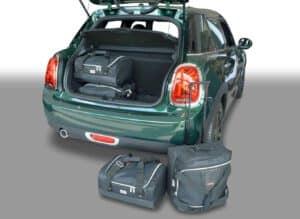 Mini One - Cooper (F55 - Mk III) 2014-heden 5d Car-Bags reistassenset met Britse vlag logo