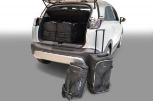 Opel Crossland X 2017-heden Car-Bags reistassenset
