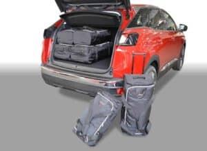 Peugeot 3008 II 2016-heden reistassenset (verstelbare laadvloer in bovenste stand)