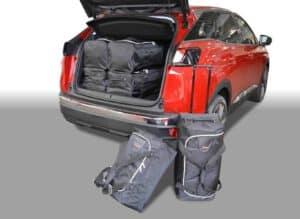 Peugeot 3008 II 2016-heden reistassenset (verstelbare laadvloer in onderste stand)