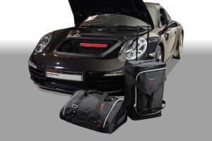 Porsche 911 (991) 2011-heden Car-Bags reistassenset (2WD links- en rechtsgestuurd + 4WD alleen linksgestuurd)