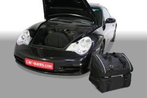 Porsche 911 (996) 1997-2006 Car-Bags reistassenset (2WD + 4WD zonder CD wisselaar of met CD-wisselaar bovenop het schutbord)