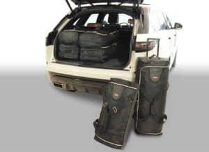Range Rover Velar (uitvoering met reserve wiel) 2017- heden Car-Bags reistassenset