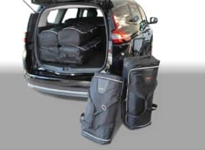 Renault Grand Scénic IV 2016-heden Car-Bags reistassenset