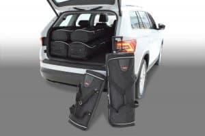 Skoda Kodiaq 2017-heden Car-Bags reistassenset (7-zits)