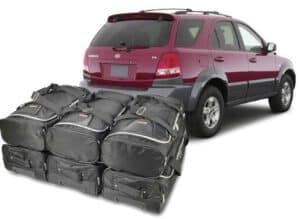 Kia Sorento I (JC-BL) 2002-2009 Car-Bags reistassenset