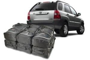Kia Sportage II (JE) 2004-2010 Car-Bags reistassenset
