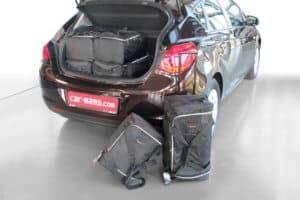 Opel Astra J 2009-2015 5d Car-Bags reistassenset
