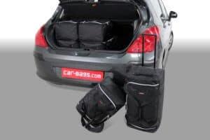Peugeot 308 I 2007-2013 3/5d Car-Bags reistassenset