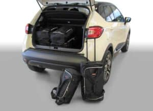 Renault Captur 2013-heden 5d Car-Bags reistassenset