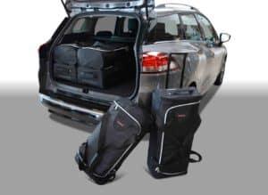 Renault Clio IV Estate / Grandtour 2013-heden Car-Bags reistassenset