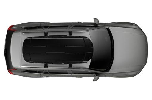 Thule Motion XT L Black bovenzijde op auto