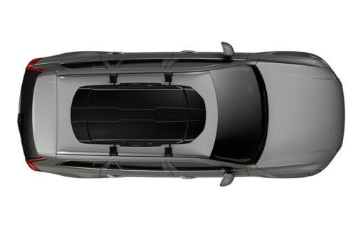 Thule Motion XT M Black op auto bovenzijde