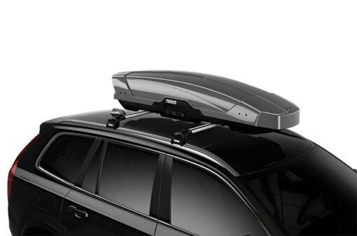 Thule Motion XT Sport Silver op auto