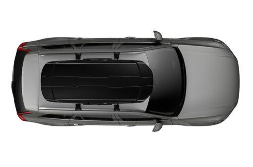 Thule Motion XT XL Black op auto bovenzijde