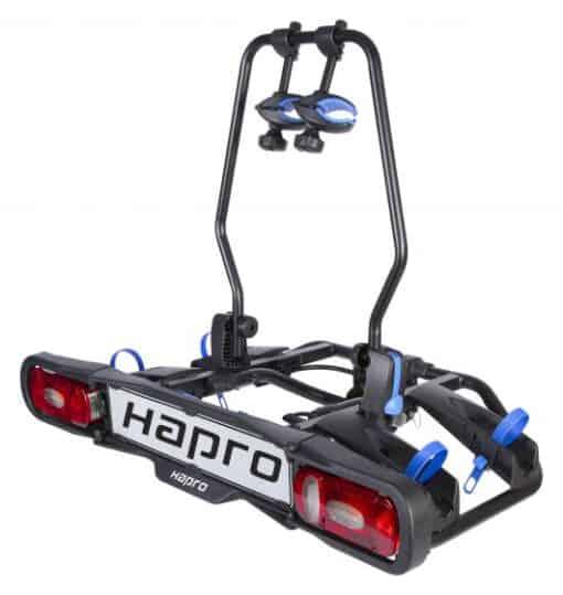 Hapro Atlas 2 Premium E-bike Blue schuin