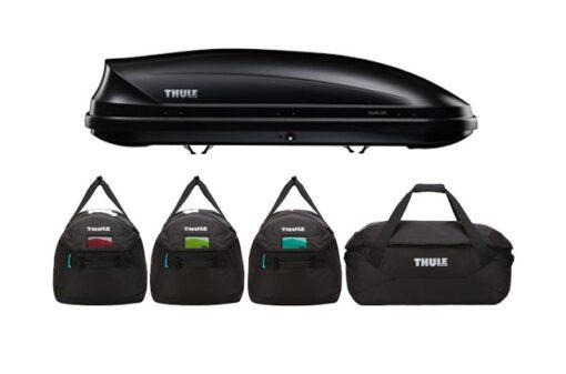 Thule Pacific 200 antraciet met 8006 - zonder logo